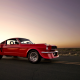 ford mustang, muscle car, ford, road, tuning, cars,  wallpaper