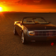 2004 lincoln mark x concept, lincoln mark x, cars, sunset, desert, lincoln wallpaper