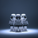 lego, star wars, stormtroopers wallpaper