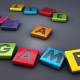 life is a game, 3d, graphics, word wallpaper
