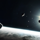 science fiction, artwork, Interstellar, movie, planet wallpaper