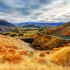 otago, new zealand, landscape, mountains, sky, clouds, nature wallpaper