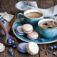 cookies, coffee, food wallpaper