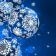 balls, snowflakes, holidays, new year, christmas wallpaper
