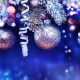 christmas, elements, balls, tinsel, branches, new year, holidays wallpaper