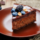 chocolate, cake, berry, dessert, blackberry. blueberry wallpaper