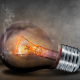 broken glass, smoke, light, light bulb, bulb wallpaper