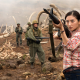 kong: skull island, movies, jing tian, shan, actress, asian, soldiers, gun wallpaper