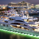 yacht, night, ship, pier, cruise liner, cruise ship, miami beach wallpaper