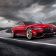 mercedes amg gt concept, mercedes-benz, cars, dark clouds, cars, mercedes wallpaper