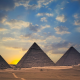 pyramids, Pyramids of Giza, nature, architecture, Egypt wallpaper