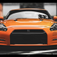nissan gt-r, cars, nissan, orange car, nissan gtr wallpaper