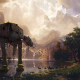 Star Wars, AT-AT, wildlife wallpaper