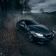 bmw m6, cars, martin cyprian, bmw, road, autumn wallpaper