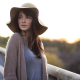 hats, cardigan, nose rings, women outdoors, looking away, brunette wallpaper