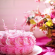 cake, food, holidays, flowers, candles wallpaper