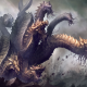 fantasy, art, dragon, hydra, deviantart wallpaper