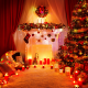 holidays, christmas, new year, christmas tree, lights, candles wallpaper