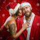 jake mattila, helena kesti, santa claus, christmas, new year, tattoo wallpaper