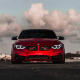 bmw f82, cars, bmw, red cars, bmw m3, satin red chrome wallpaper