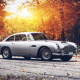 car, fall, sunset, Aston Martin, Aston Martin DB5 wallpaper