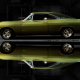 1968 dodge charger classics, dodge charger, dodge, cars, reflection, green cars wallpaper