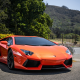 lamborghini, orange car, cars, lamborghini aventador wallpaper