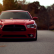 dodge, cars, autumn, red car, dodge charger wallpaper