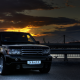 2008 range rover sport, tuning, cars, night, range rover, black car wallpaper