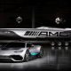 mercedes-amg project one, mercedes, yacht, cars wallpaper
