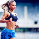 sports, running, women, fitness model wallpaper