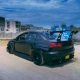 mitsubishi lancer, mitsubishi, cars, black car, sand wallpaper