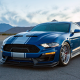 2018 shelby mustang super snake, ford mustang, cars, ford, blue car,  wallpaper
