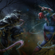 marvel comics, spider-man, venom, artwork wallpaper