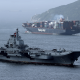 liaoning, chinese aircraft carrier, aircraft carrier, varyag, riga, sea, type 001, ship wallpaper