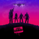 Guardians of the Galaxy, purple, pink, cassettes, music wallpaper