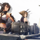 artwork, anime girls, Nagato, KanColle, Mutsu, seagulls, Kantai Collection wallpaper