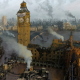 artwork, London, apocalyptic, england wallpaper