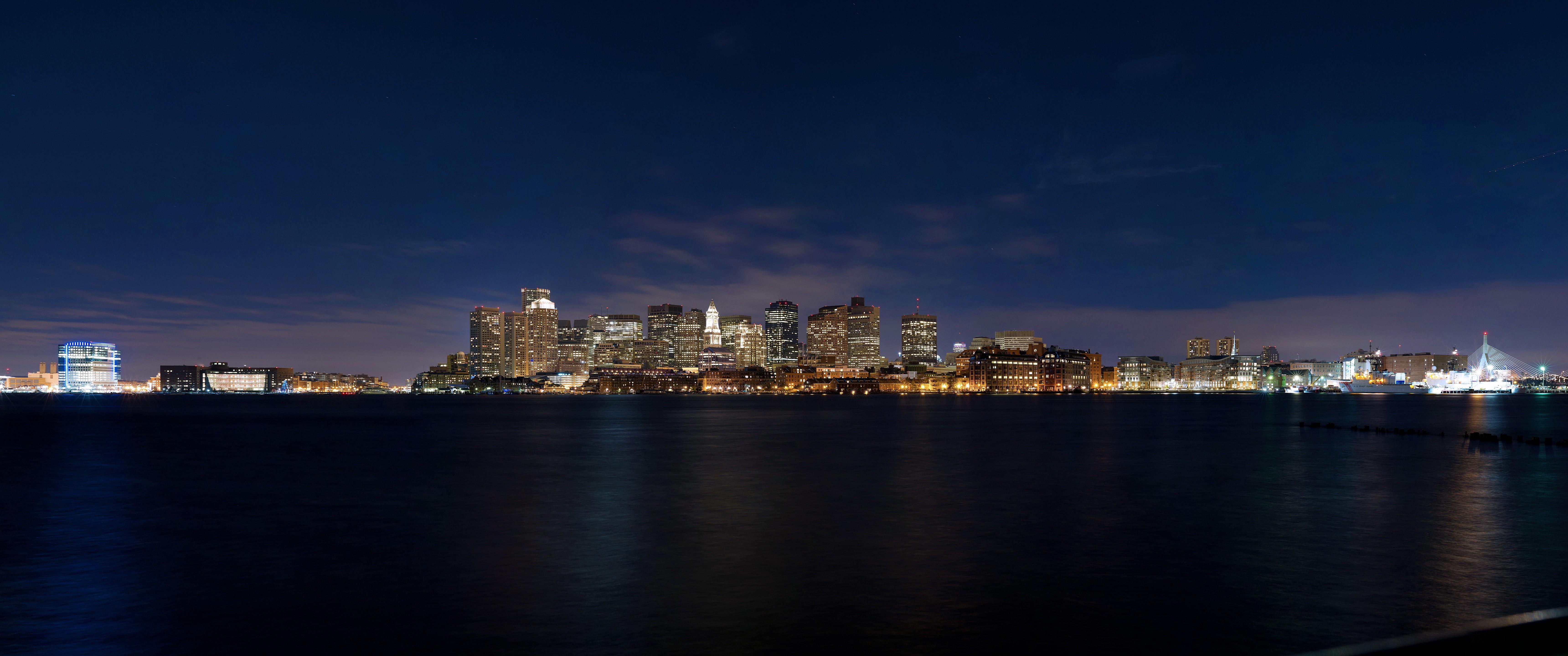 Download 6880x2880 boston skyline