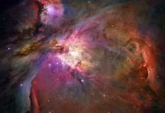 Orion, nebula, space, stars wallpaper
