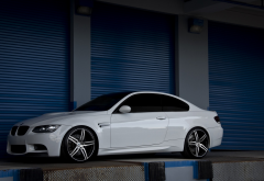 BMW, BMW E92, car, garage wallpaper