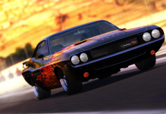 Dodge Challenger 1970, Dodge, colorful, Dodge Challenger, car wallpaper