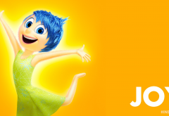 Inside Out, cartoons, movies, joy wallpaper