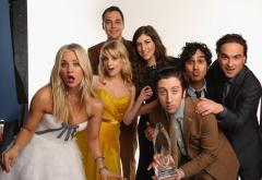 The Big Bang Theory, movies, tv series, Johnny Galecki, Jim Parsons, Kaley Cuoco, Simon Helberg, Kun wallpaper