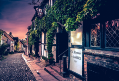 urban, old tavern, street, London, architecture, house, city wallpaper