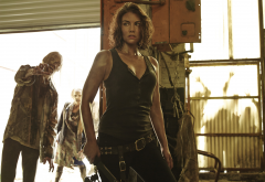Maggie Greene, Lauren Cohan, actress, The Walking Dead, movies, tv series wallpaper