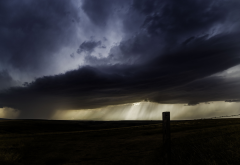 storm, clouds, rain, nature, valley, thunderstorm wallpaper