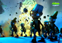 Plants vs. Zombies, games, zombie wallpaper