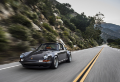 Porsche, Porsche 911, Porsche 911 Carrera S, speed, highway, car wallpaper