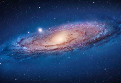 andromeda, space, galaxy, stars wallpaper